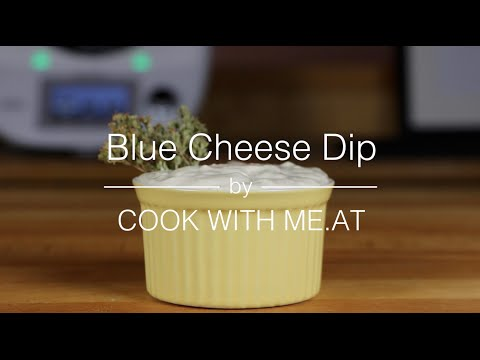 Blue Cheese Dip - Easy Video Recipe - COOK WITH ME.AT