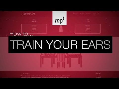 Train Your Ears with SoundGym to become better at production, mixing & mastering