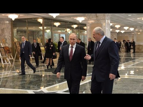 LIVE: Putin and Lukashenko hold joint press conference in Minsk