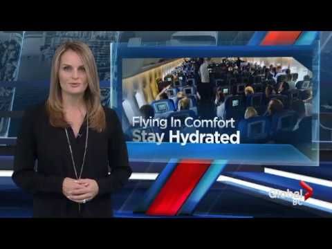 Claire Newell - Travel Tips - Flying in comfort