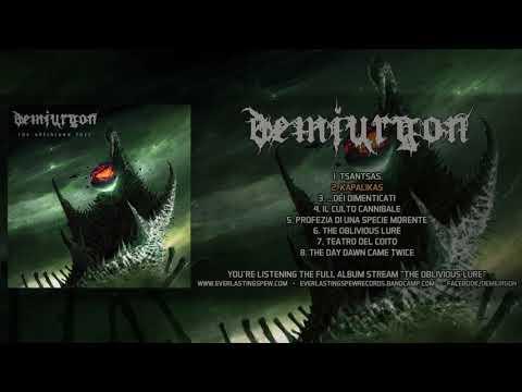 DEMIURGON - THE OBLIVIOUS LURE (OFFICIAL ALBUM STREAM 2019) [EVERLASTING SPEW RECORDS]