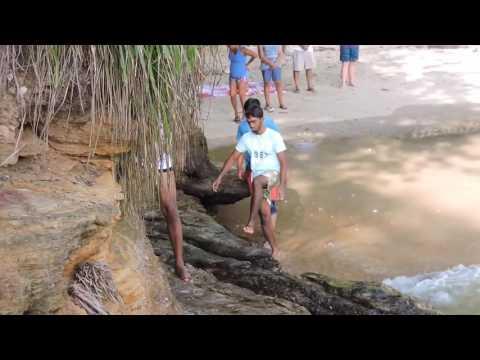 Hidden Beach in Trinidad
