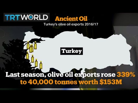 Money Talks: Turkey ranks among the world's biggest producers of olive oil