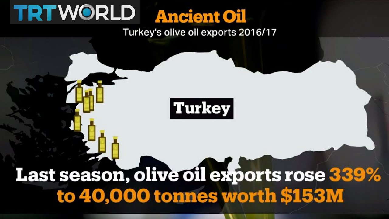 Money Talks: Turkey ranks among the world's biggest producers of olive oil