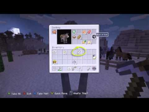 Minecraft Xbox360PS3 NEW TITLE UPDATE 19 SCREENSHOTS DONKEYS NAMETAGS LEADS Amp MORE TU19