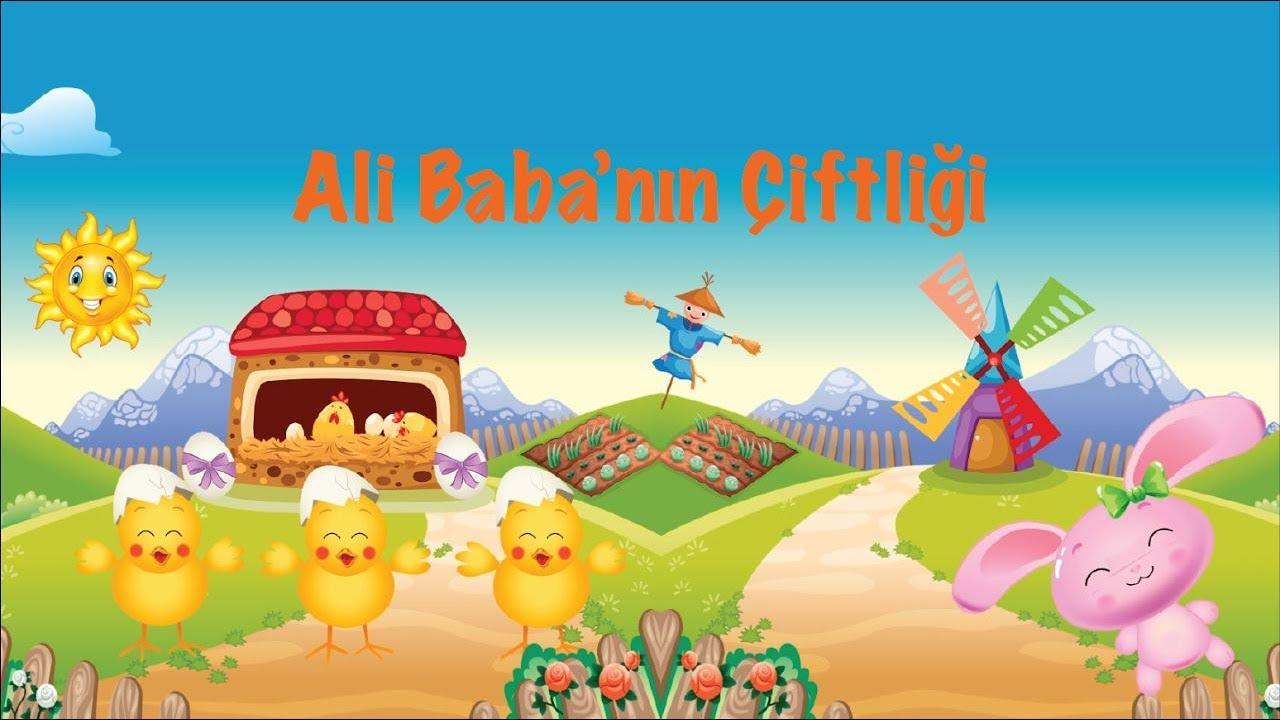 Ali Babanın Bir Çiftliği Var  - Bebek Şarkıları -  Çocuk Şarkıları - Ali Babanin ciftligi