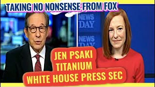 Chris Wallace meets his match in Jen Psaki President Bidens new White House Press Sec closesdown Fox