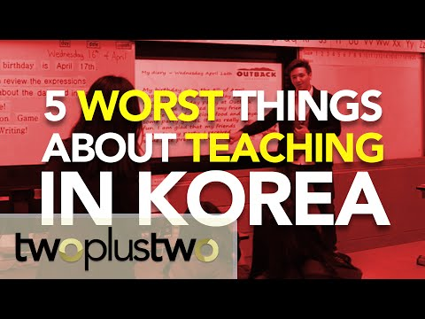 5 Worst Things About Teaching in Korea