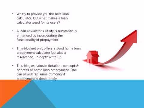 Home Loan Prepayment Calculator Guide