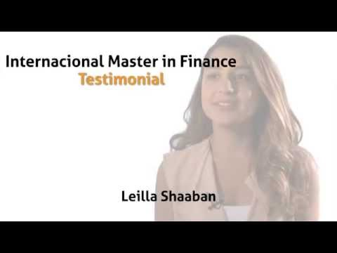 Leilla's experience- International Master in Finance