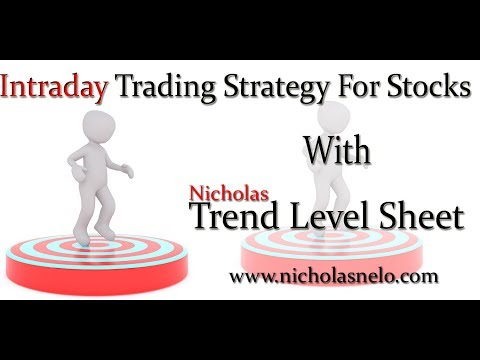 Intraday Trading Strategy in Stock market :-Trend Level Based Trading  Experience
