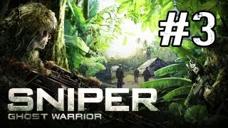 Sniper Ghost Warrior Walkthrough - Part 3 Danagerous Grounds (Gameplay Commentary)