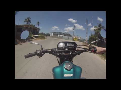 Dirtbiking in Samaná Dominican Republic 2017