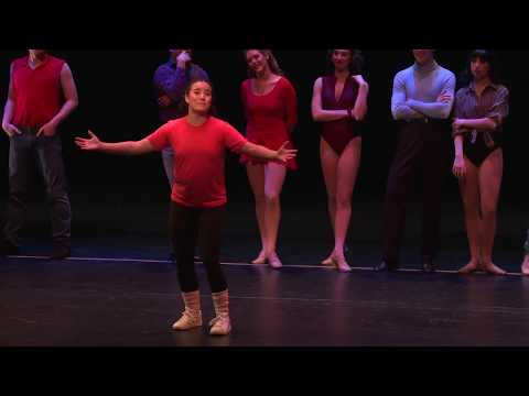 """Montage, Part One: Hello Twelve""- A Chorus Line @ Texas State University"