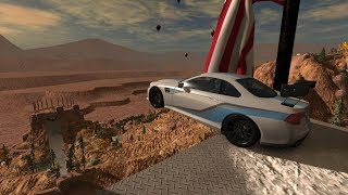 Fly Off Jumps & Destroy Cars at Tavaci Monadnock - BeamNG.drive