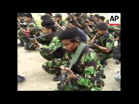 Latest from Exxon-Mobil plant in Aceh, with pix of rebels from Free Aceh Movement training