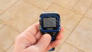Garmin FR920XT Smart Notifications Overview