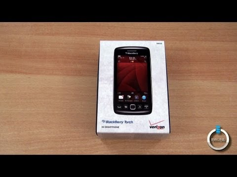 Verizon Blackberry Torch 9850 Unboxing & First Impressions