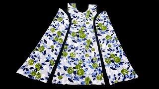 خياطة فستان طفلة بكل بساطة و مذهل