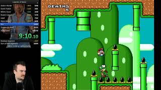 Legends of Mario 100% Speedrun in 56:44 (2nd place)