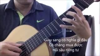 Nguoi giau cung khoc (Truong Vu) [Guitar solo] [K'K]