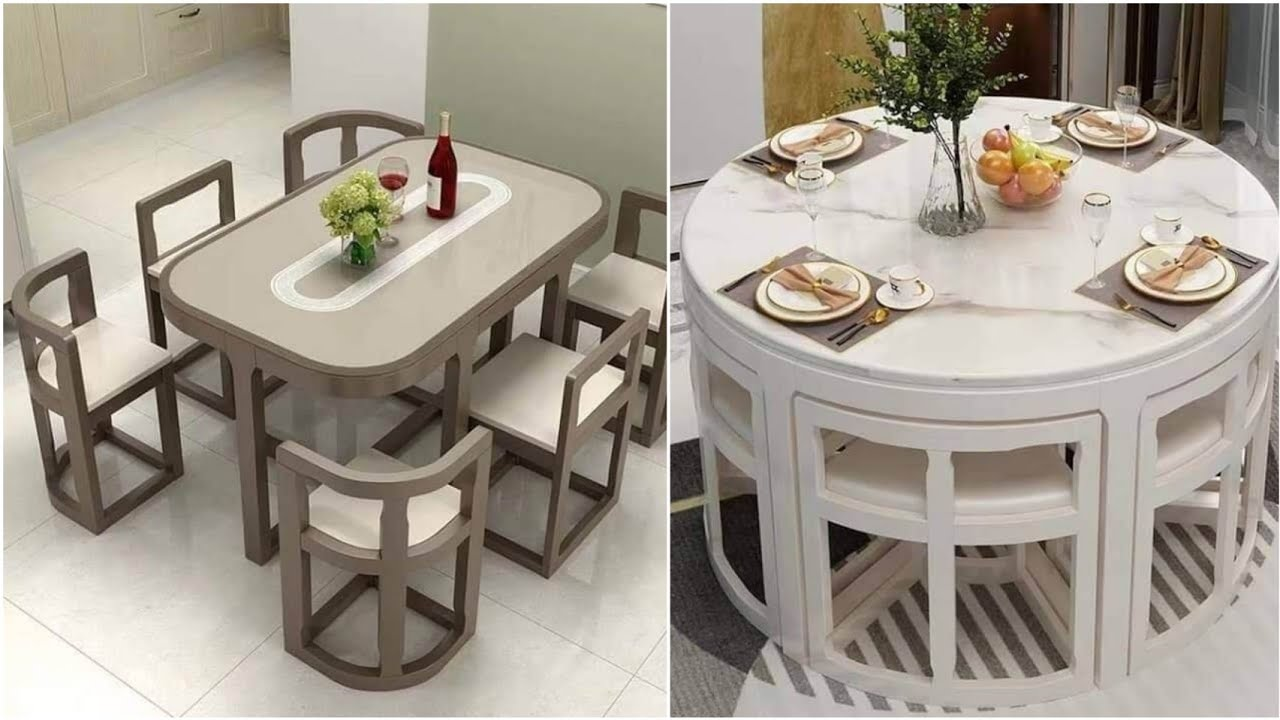 Small Dining Table Ideas Space Saving Furniture Design 2021 Youtube