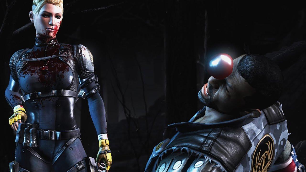 Mortal Kombat X Cassie Cage X-Ray + Fatality HD 1080p