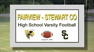 2018 8 31 SPORT FVHS Football vs Stewart Co