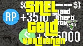 GTA V - Snel geld verdienen!! Hoe verdien ik geld? TOP 5 Manieren - Dutch Commentary