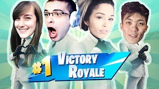 GETAWAY ft. Nick Eh 30, ONE_shot_GURL, FaZe Tennp0 - Valkyrae Fortnite