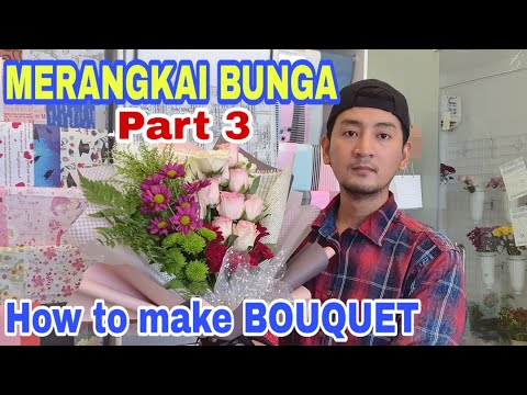 DIY HOW TO MAKE FLOWER Part 3