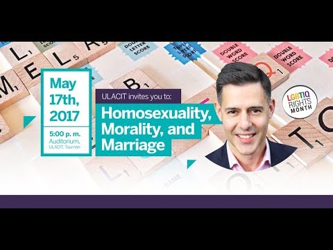 Homosexuality, Morality and Marriage