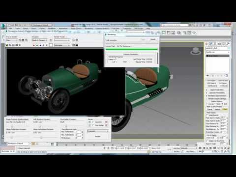 Inventor workflow part 1: Importing an Inventor model into 3ds Max Design