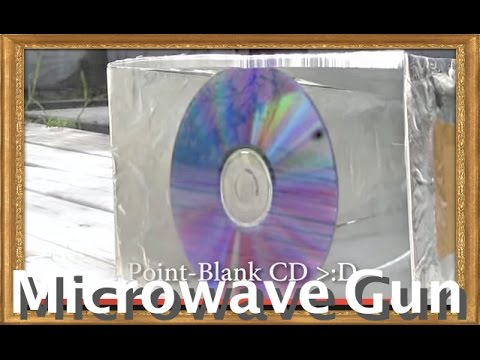 MICROWAVE CANNON! A High Energy Radio Frequence gun. (700 watts)