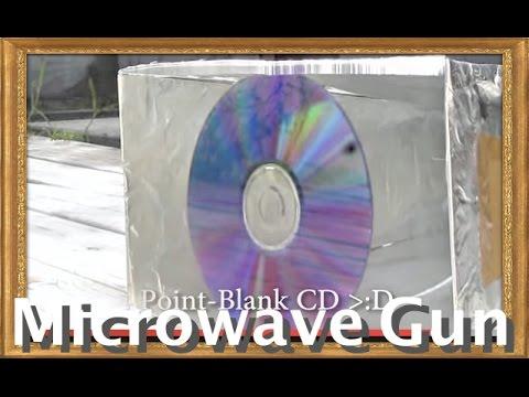 MICROWAVE CANNON! A High Energy Radio Frequence gun  (700 watts)