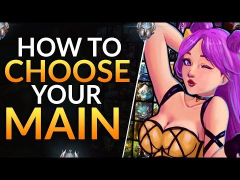 How To CHOOSE YOUR MAIN: Pro Tips To Pick The BEST Champion Pool | League Of Legends Guide