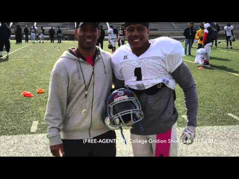 Anttonio Brown NFL FREE AGENT (College Gridiron Showcase) Free Agent  VUL