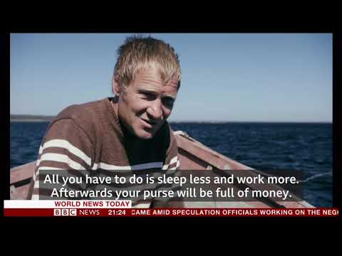 Seaweed harvesting - profitable but lonely (Russian Arctic) - BBC News - 14th October 2018