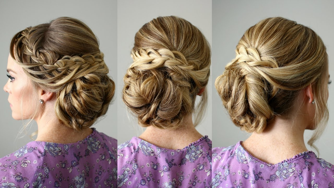 Looped Braid Updo Missy Sue Youtube