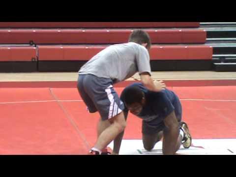 Nebraska Wrestling Coaches Clinic 2013 14 Jordan Burroughs technique 18  Improve position when oppon