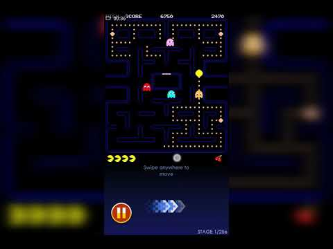 Classic Pacman On Android Phone