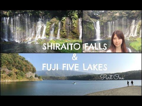 Japan Travel: Fuji Five Lakes & Shiraito Falls | 富士五湖・白糸の滝