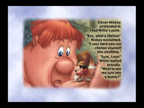 Mickey and the Beanstalk storybook