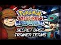 Pokémon Omega Ruby and Alpha Sapphire   Secret Base Trainer Teams