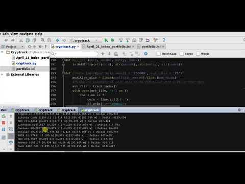 microsoft cryptocurrency trading python example
