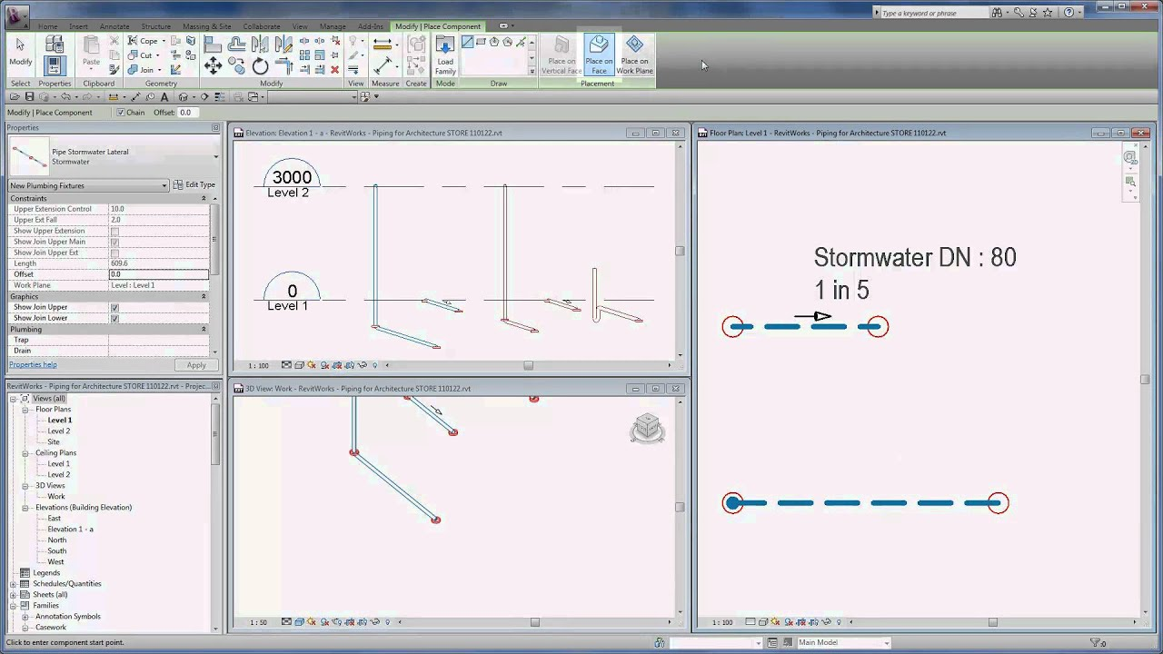 Revitworks Piping For Revit Architecture Overview Youtube Layout Consultants