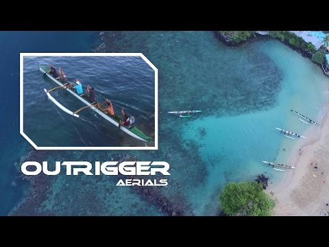 Outrigger Canoeing in American Samoa | Drone