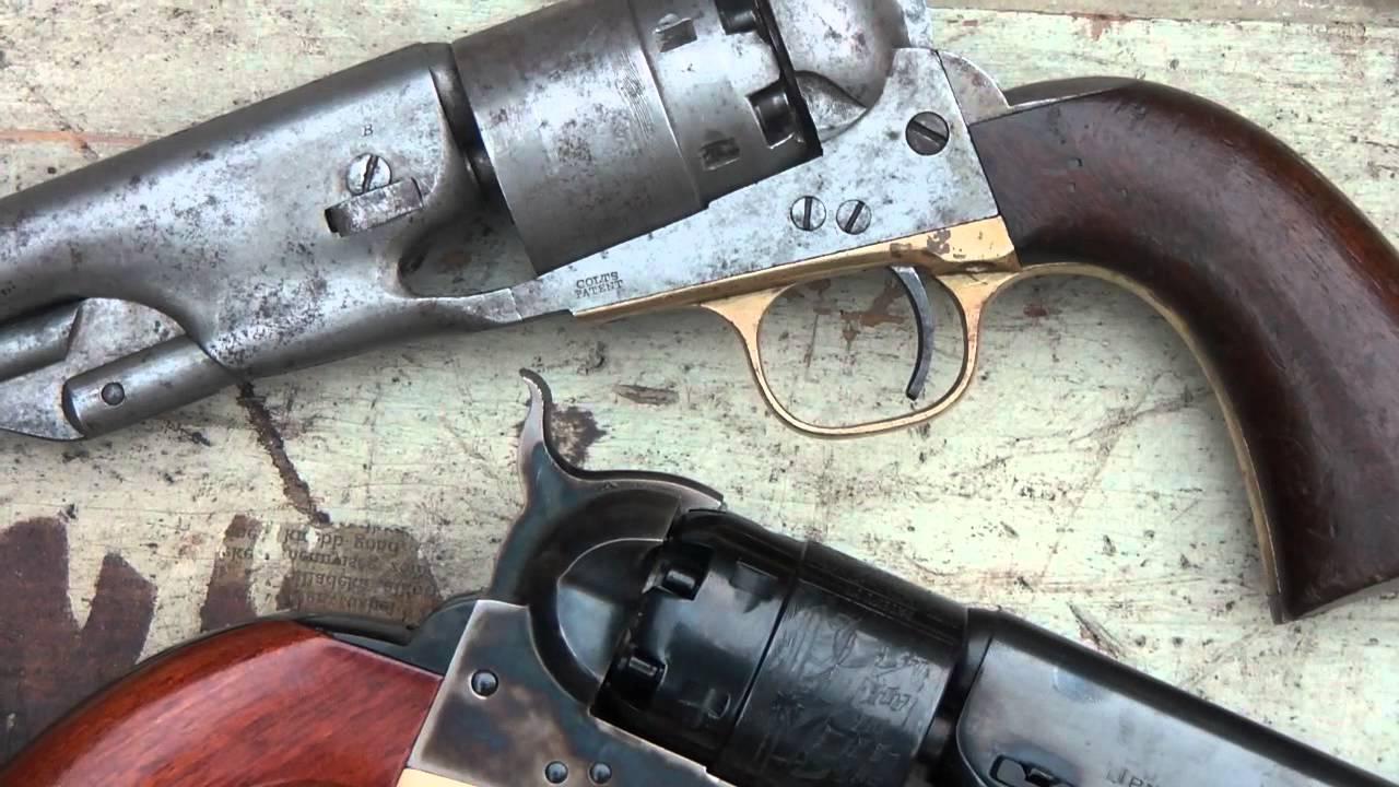 Testshooting An Original Colt 1860 Army Vs Uberti 1860