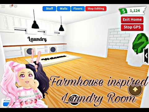 I Made A New House In Adopt Me First Time Making A Laundry Room Youtube