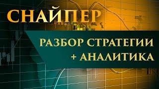 Снайпер: разбор стратегии + аналитика на неделю
